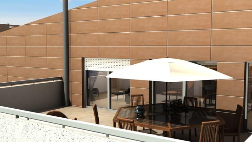 Casas residenciales Mirasol 3D 11