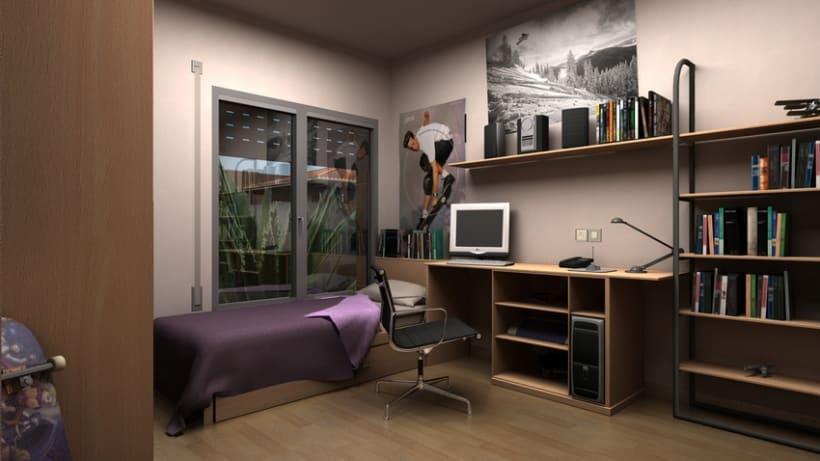 Casas residenciales Mirasol 3D 13