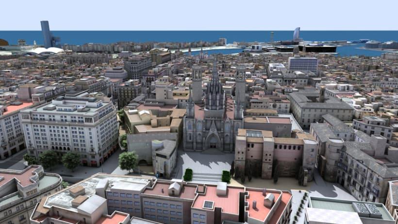 Previos demoreel wip Barcelona 3D -1