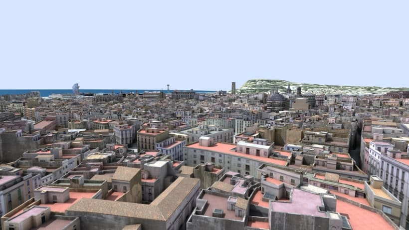 Previos demoreel wip Barcelona 3D 0
