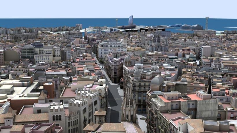 Previos demoreel wip Barcelona 3D 1