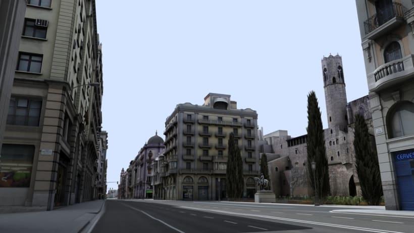 Previos demoreel wip Barcelona 3D 2