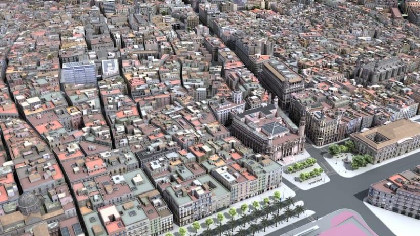 Previos demoreel wip Barcelona 3D 3