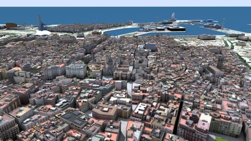 Previos demoreel wip Barcelona 3D 4