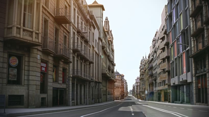 Previos demoreel wip Barcelona 3D 5