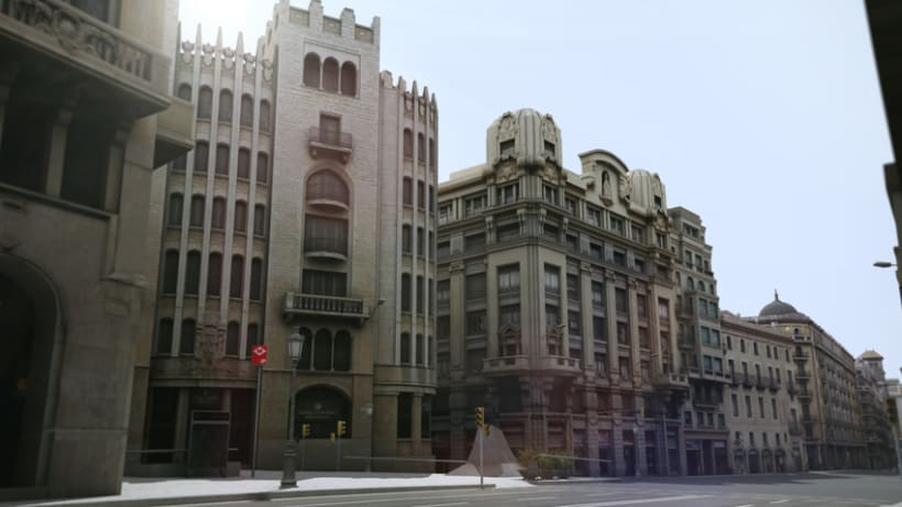 Previos demoreel wip Barcelona 3D 6
