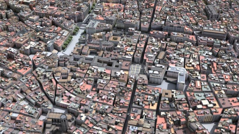 Previos demoreel wip Barcelona 3D 8