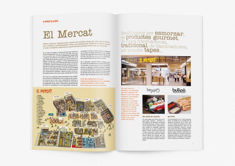 Revista el mercat domestika for El mercat de les glories