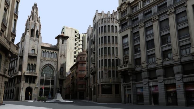 Previos demoreel wip Barcelona 3D 9