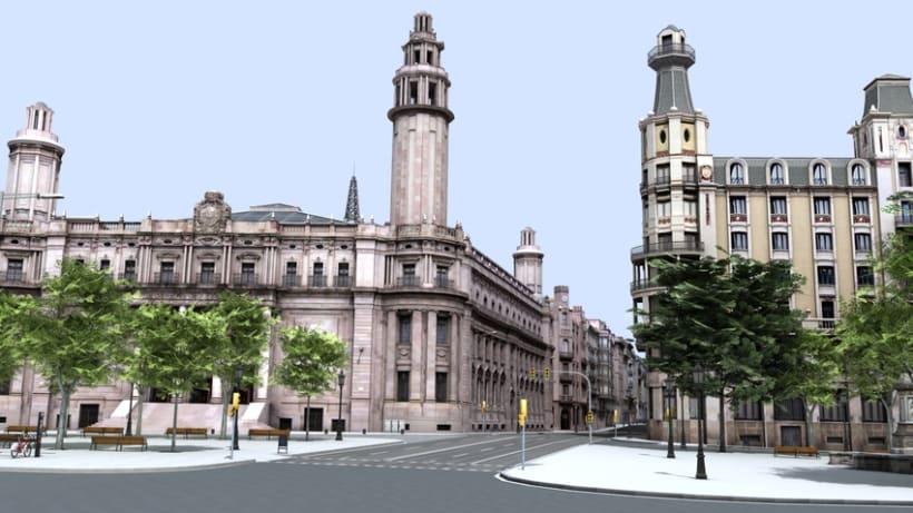 Previos demoreel wip Barcelona 3D 11
