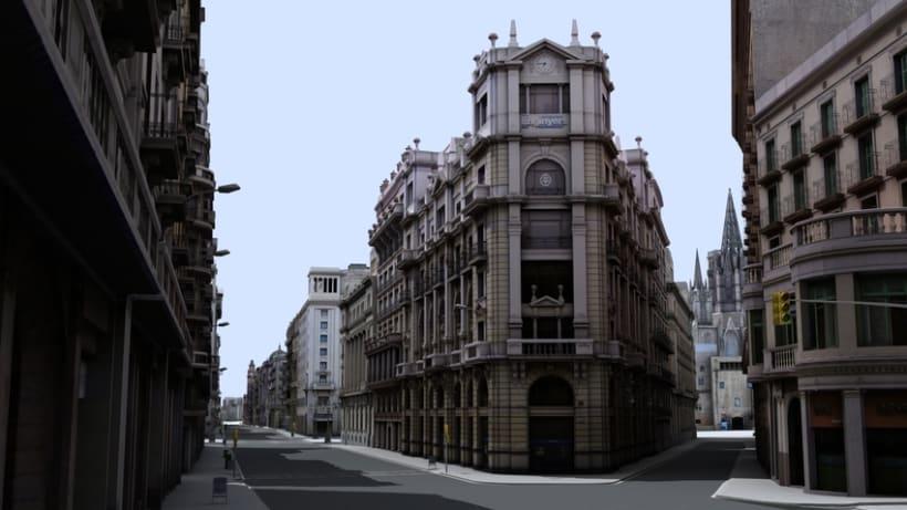 Previos demoreel wip Barcelona 3D 12