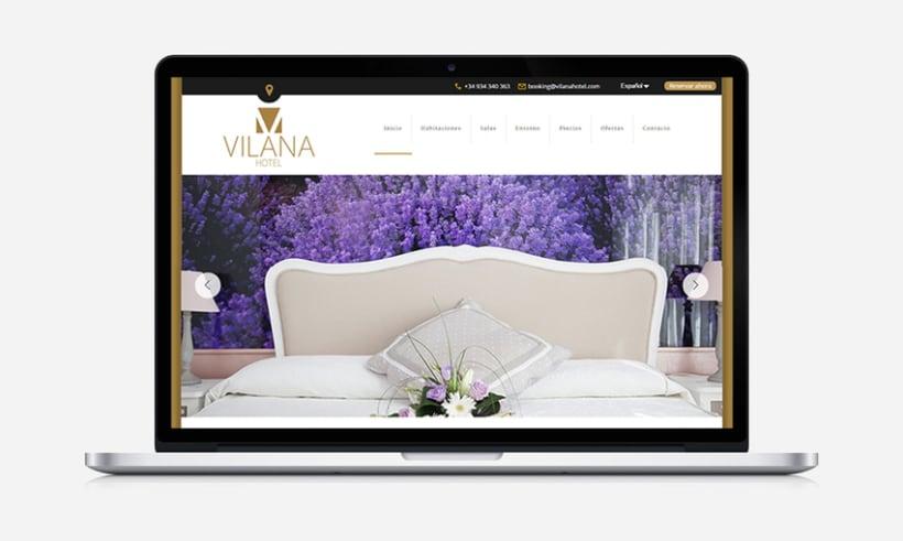 WordPress Developer Vilana Hotel 0