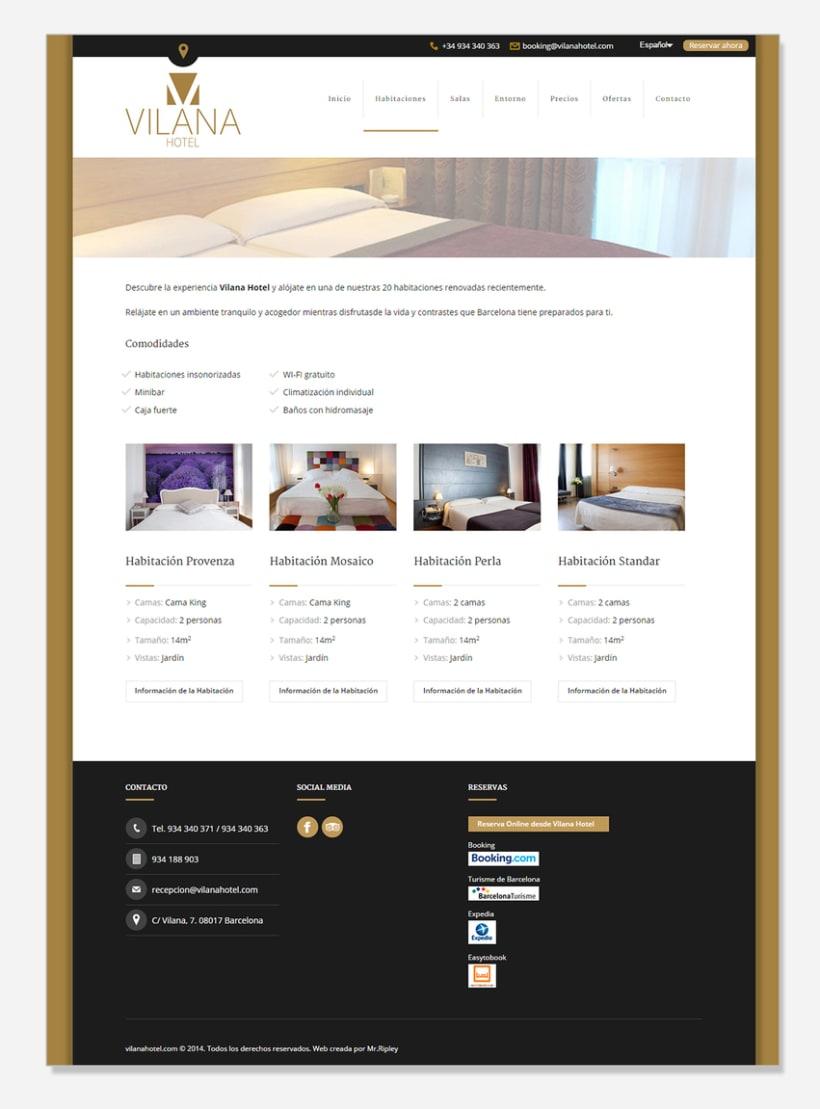 WordPress Developer Vilana Hotel 2