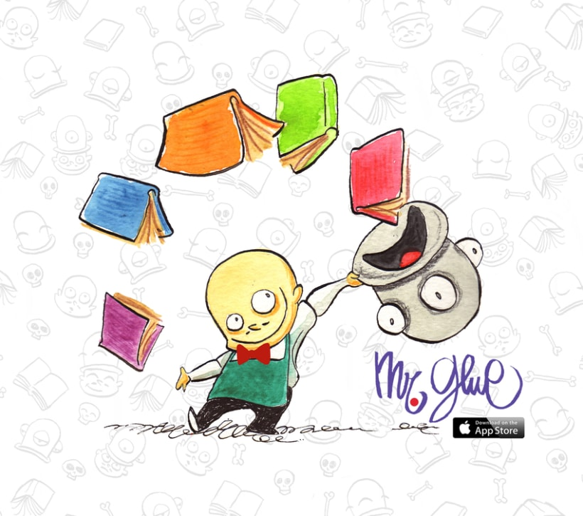 Mr Glue Stories (iPad APP) 1