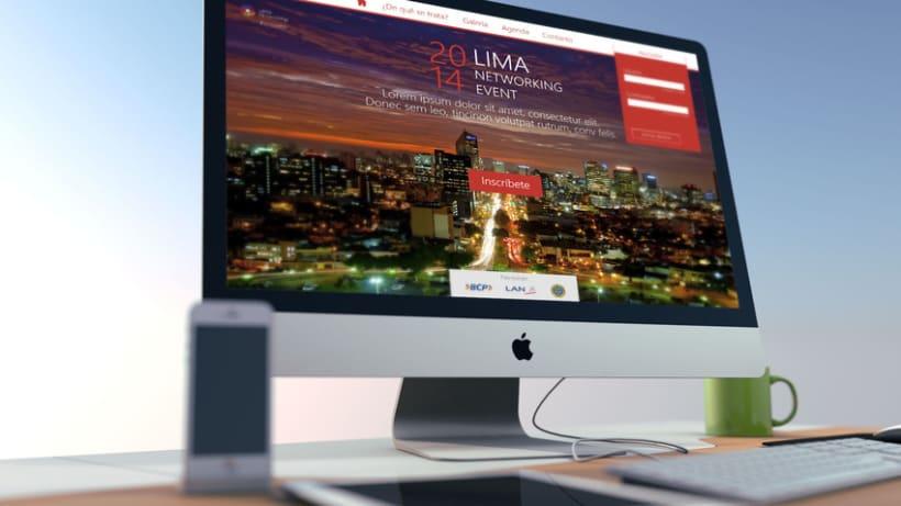 Lanzamiento web   Lima Networking 1