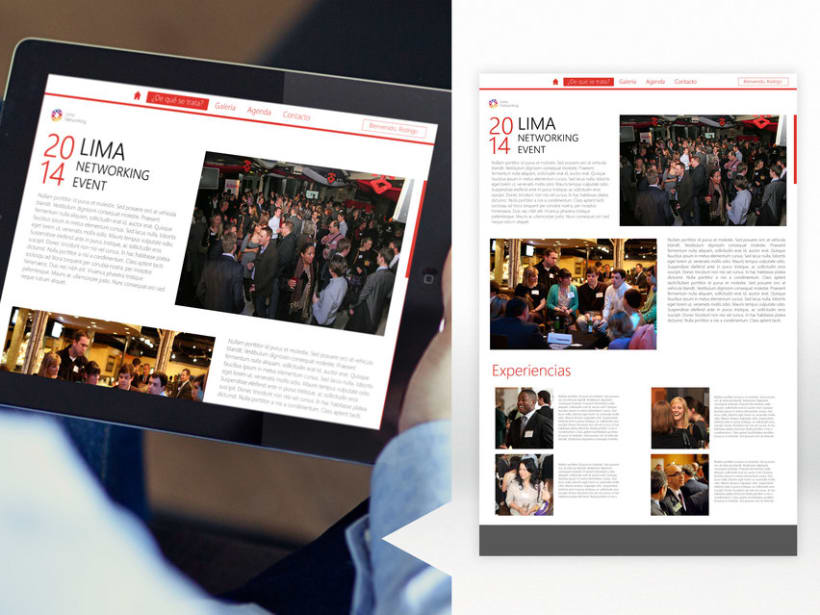Lanzamiento web   Lima Networking 2