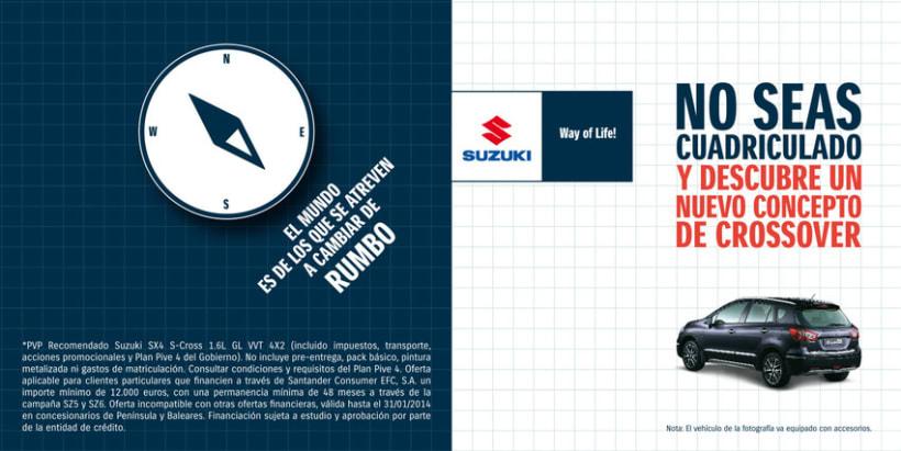 Díptico para cuadriculados (Suzuki S-Cross). 0