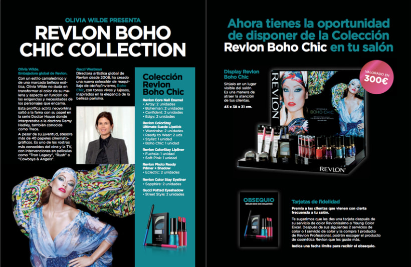 Fotografías de la colección Boho Chic de Revlon para The Colomer Group. Advertising photography for the Boho Chic Collection to the professional line of Revlon. 4
