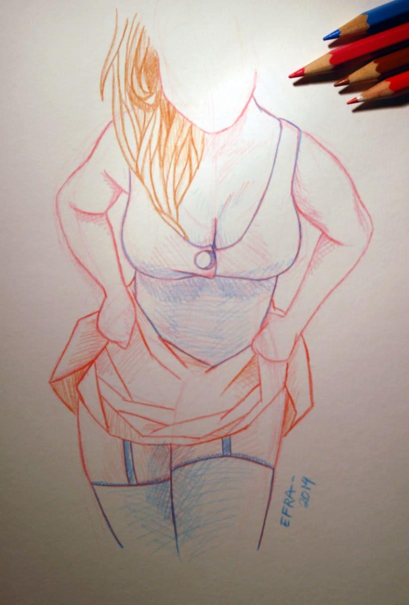 Ilustración - Mis chicas 0