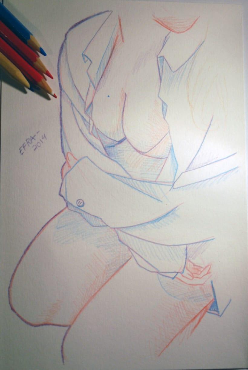 Ilustración - Mis chicas 1