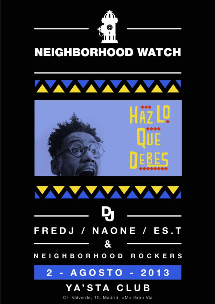 Neighborhood Watch Covers Events 2013 -1