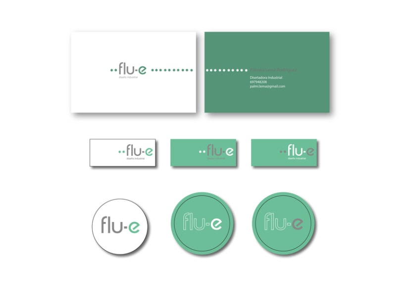 Identidad Corporativa Flu-e. Proyecto en grupo. -1