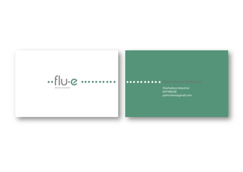 Identidad Corporativa Flu-e. Proyecto en grupo. 2