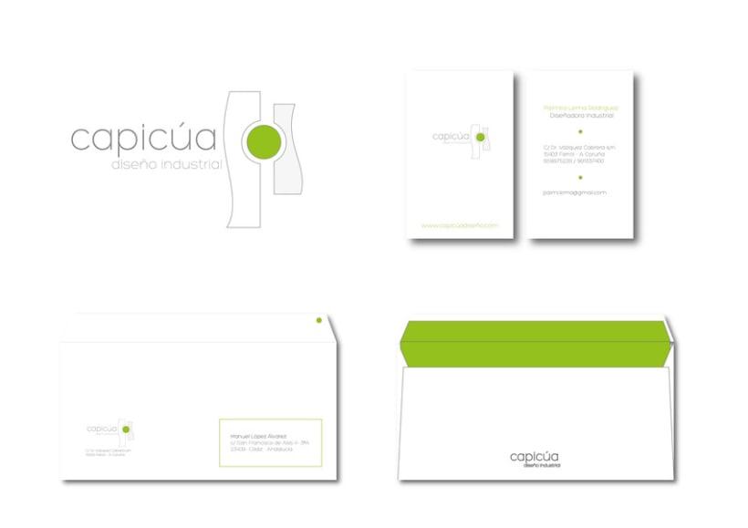 Identidad Corporativa Capicúa. Proyecto en grupo. 1