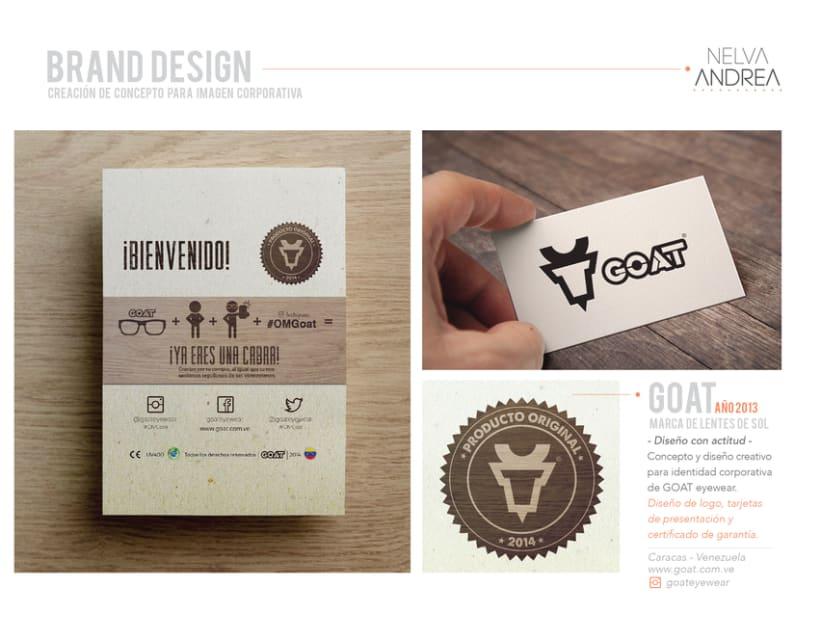 Brand Design - Goat eyewear 0