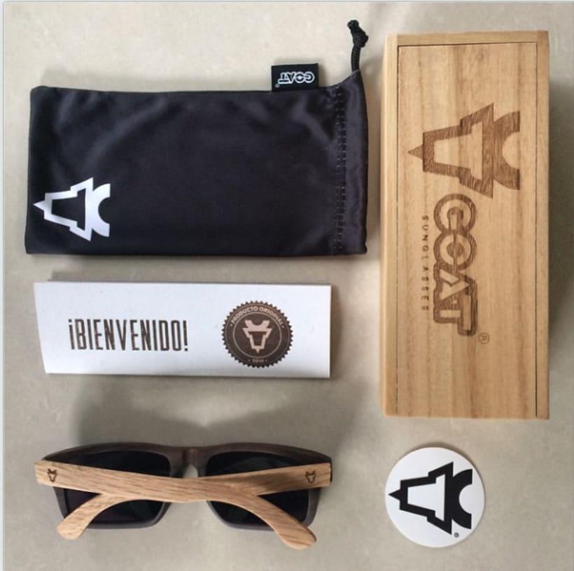Brand Design - Goat eyewear 2