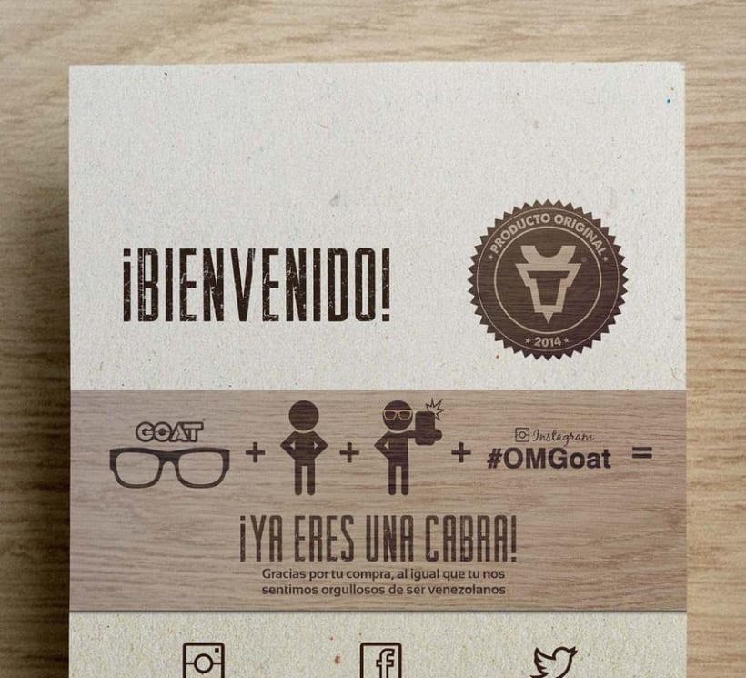Brand Design - Goat eyewear 3