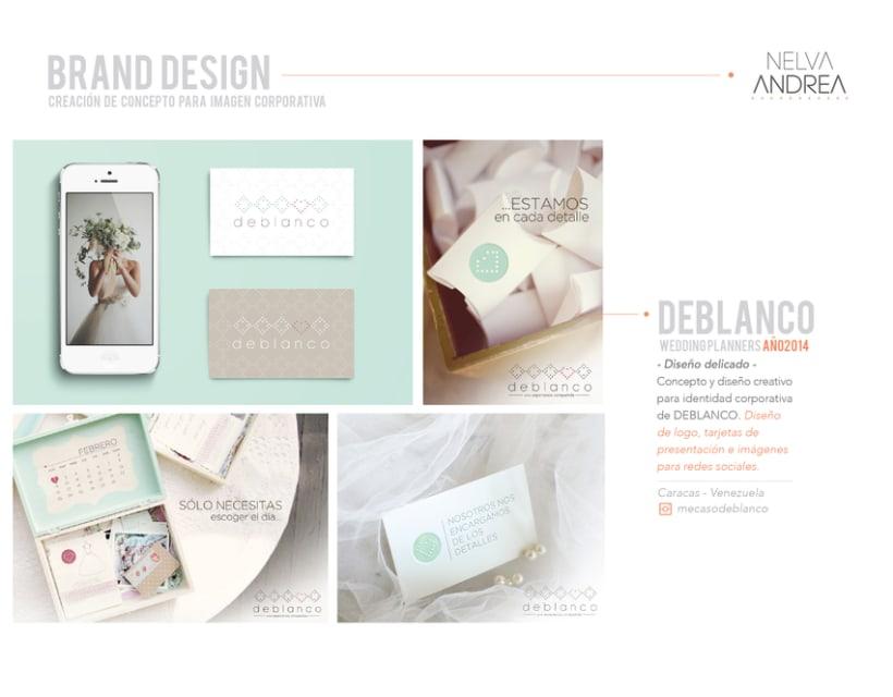 Brand Design - Deblanco Wedding Planners -1