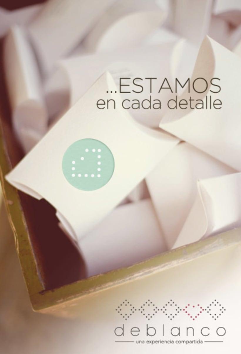 Brand Design - Deblanco Wedding Planners 1