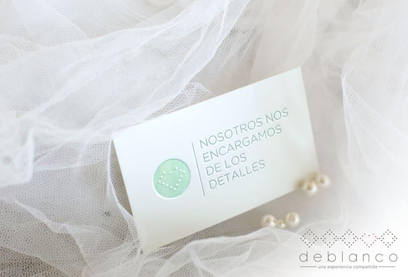 Brand Design - Deblanco Wedding Planners 2
