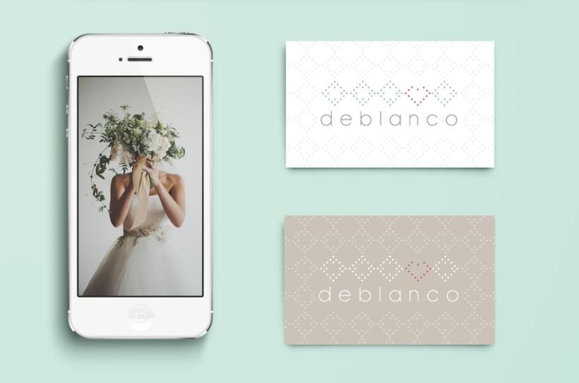 Brand Design - Deblanco Wedding Planners 3