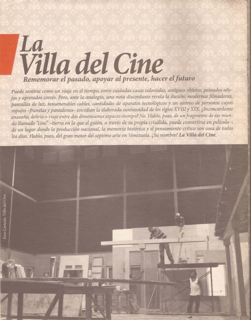 La Villa del Cine. Rememorar el pasado, apoyar al presente, hacer el futuro 4
