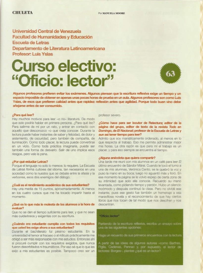 Oficio: lector 3