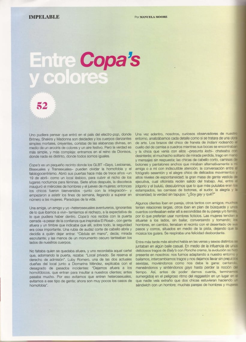 Entre Copa's y colores 3