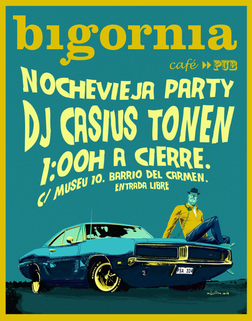 Bigornia party poster 0
