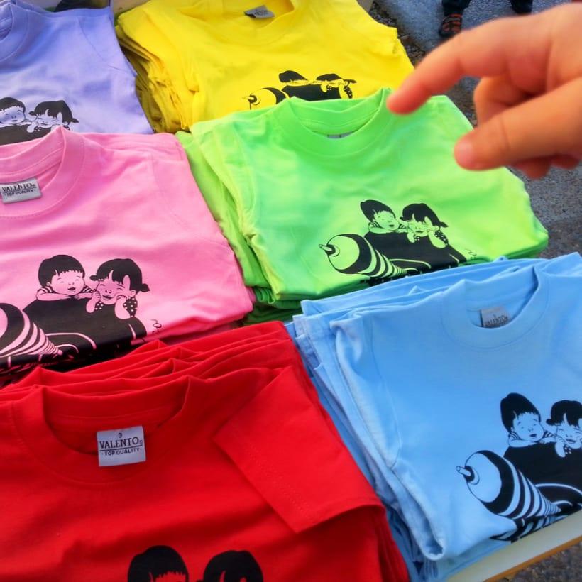 posicionado para camiseta de la llar d'infants La Baldufa, Girona 2