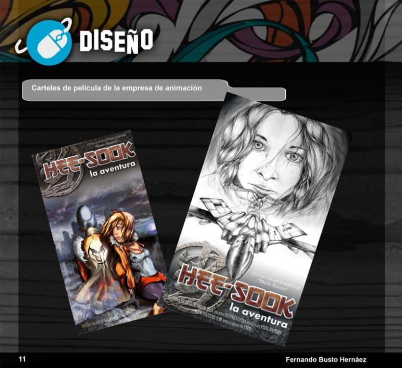 Portfolio Busto Ilustra: Diseño e Ilustración 10