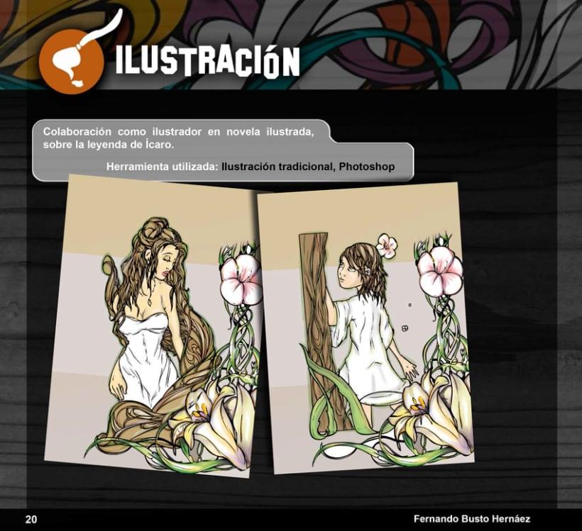 Portfolio Busto Ilustra: Diseño e Ilustración 19