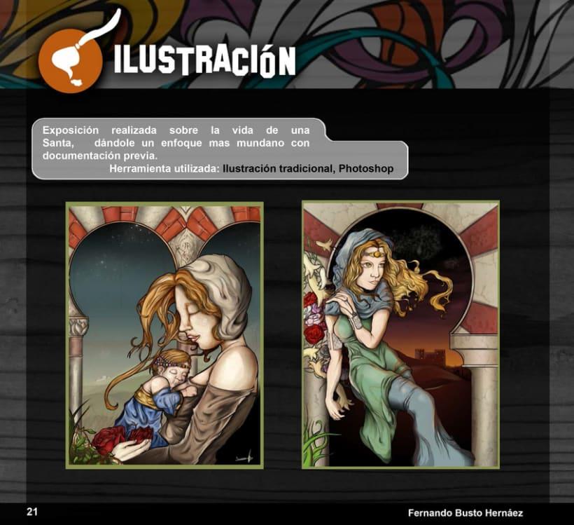 Portfolio Busto Ilustra: Diseño e Ilustración 20