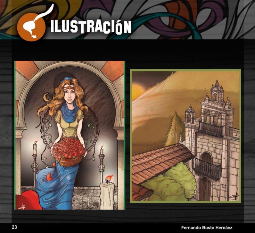 Portfolio Busto Ilustra: Diseño e Ilustración 32