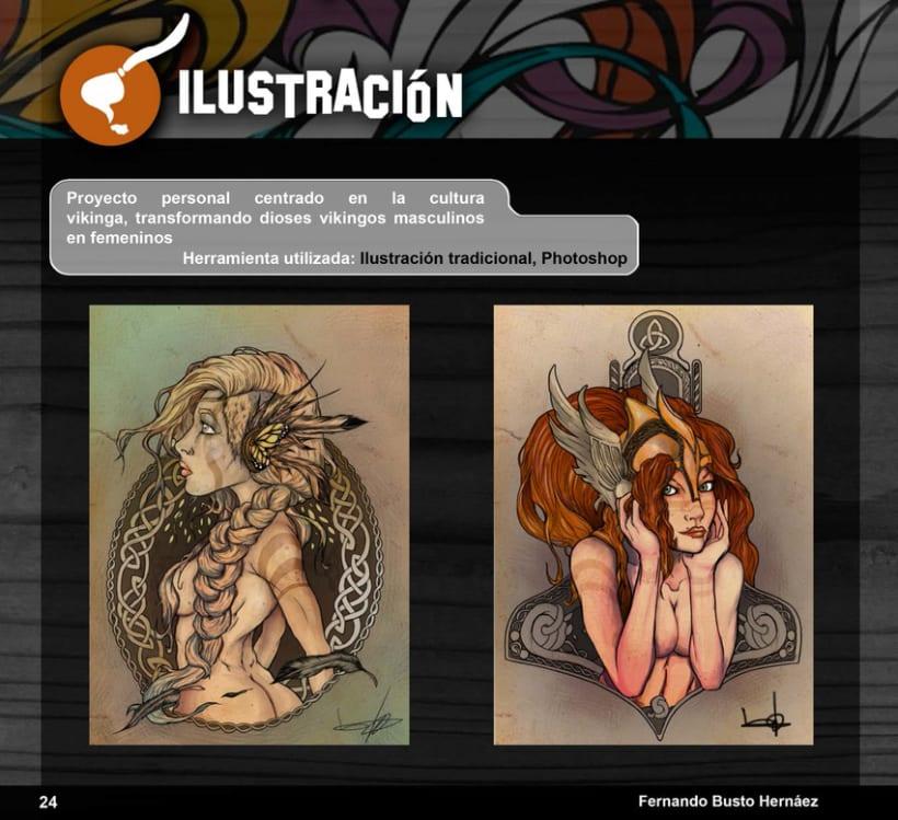 Portfolio Busto Ilustra: Diseño e Ilustración 33
