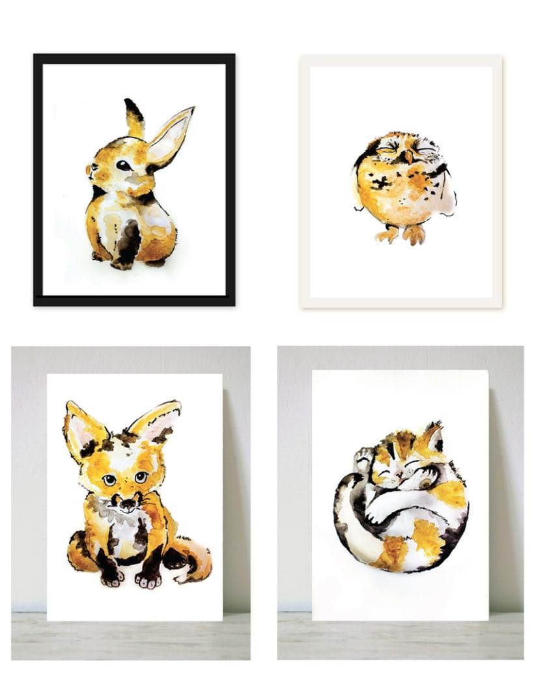 Ilustraciones de cachorros 0
