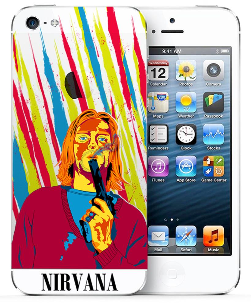 Retrato de Nirvana ( Kurt Cobain) 6