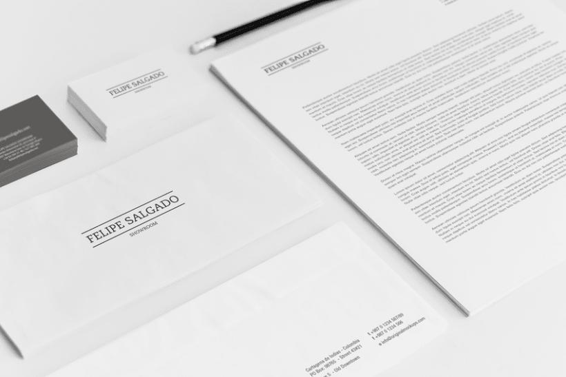 Felipe Salgado Showroom / Branding 3