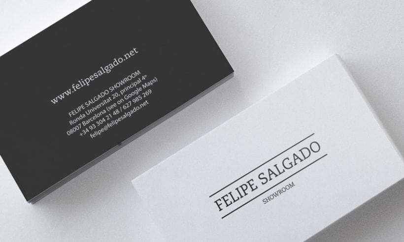 Felipe Salgado Showroom / Branding 4