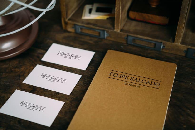Felipe Salgado Showroom / Branding 2